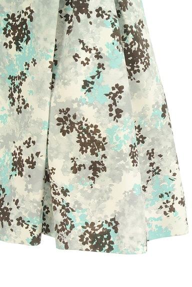 Rirandture(リランドチュール)の古着「フロッキー花柄台形スカート(スカート)」大画像4へ