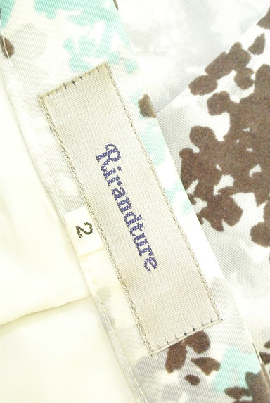 Rirandture(リランドチュール)の古着「フロッキー花柄台形スカート(スカート)」大画像6へ