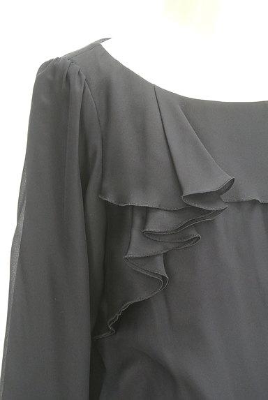 NATURAL BEAUTY(ナチュラルビューティ)の古着「フリルシフォンカットソー(カットソー・プルオーバー)」大画像4へ
