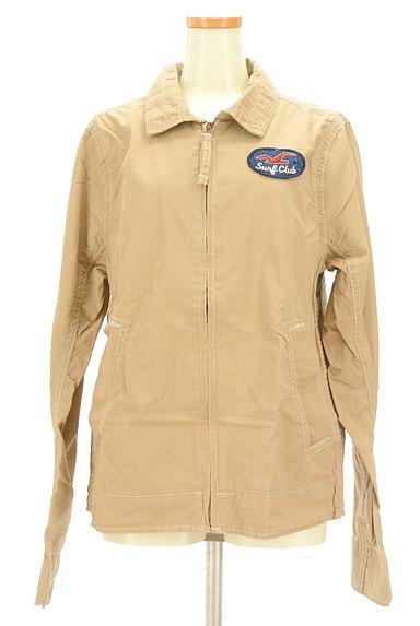 Hollister Co.(ホリスター)の古着「襟付きジップアップジャケット(ブルゾン・スタジャン)」大画像1へ