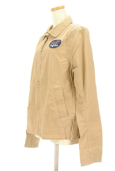 Hollister Co.(ホリスター)の古着「襟付きジップアップジャケット(ブルゾン・スタジャン)」大画像3へ