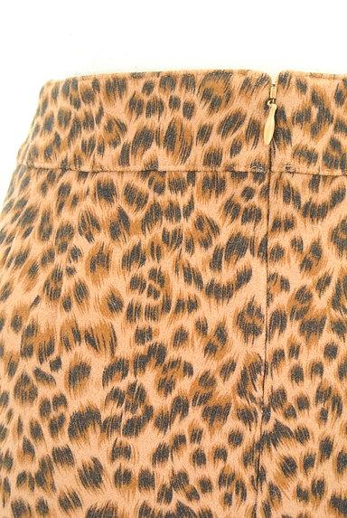 VICKY(ビッキー)の古着「レオパード柄タイトスカート(スカート)」大画像4へ