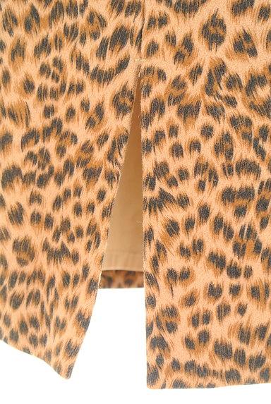 VICKY(ビッキー)の古着「レオパード柄タイトスカート(スカート)」大画像5へ