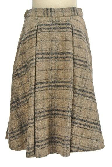 ROSSO(ロッソ)の古着「タックフレアニットスカート(スカート)」大画像2へ