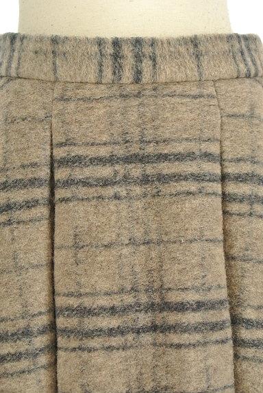ROSSO(ロッソ)の古着「タックフレアニットスカート(スカート)」大画像4へ