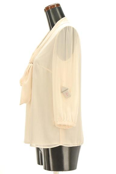 MICHEL KLEIN(ミッシェルクラン)の古着「ボウタイシフォンブラウス(ブラウス)」大画像4へ