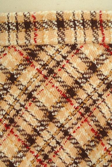 LAISSE PASSE(レッセパッセ)の古着「チェック柄フレアミニスカート(ミニスカート)」大画像4へ