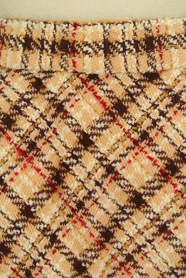 LAISSE PASSE(レッセパッセ)の古着「チェック柄フレアミニスカート(ミニスカート)」大画像5へ