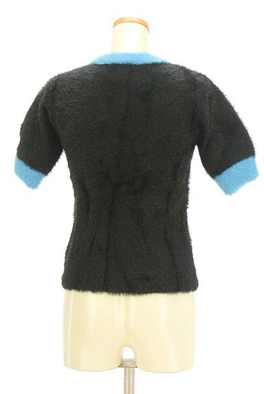 MOUSSY(マウジー)の古着「バイカラー起毛5分袖ニット(ニット)」大画像2へ