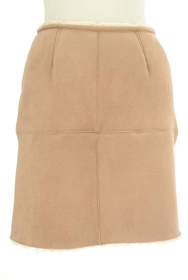 FREE'S MART(フリーズマート)の古着「裏ボアムートンタイトスカート(ミニスカート)」大画像1へ