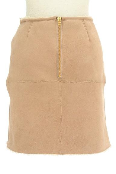 FREE'S MART(フリーズマート)の古着「裏ボアムートンタイトスカート(ミニスカート)」大画像2へ