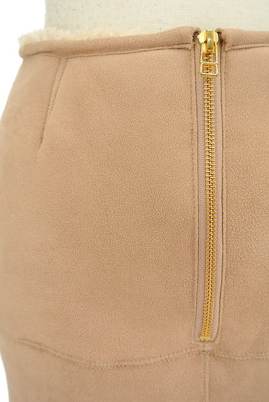 FREE'S MART(フリーズマート)の古着「裏ボアムートンタイトスカート(ミニスカート)」大画像4へ