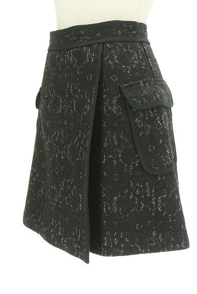 MERCURYDUO(マーキュリーデュオ)の古着「裏起毛レースラップ風ミニスカート(ミニスカート)」大画像3へ