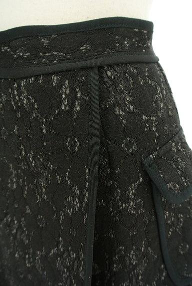 MERCURYDUO(マーキュリーデュオ)の古着「裏起毛レースラップ風ミニスカート(ミニスカート)」大画像4へ