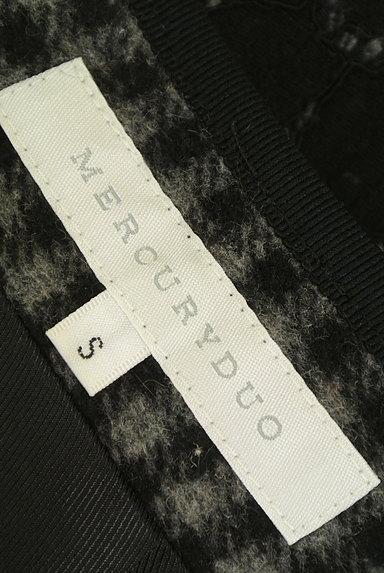 MERCURYDUO(マーキュリーデュオ)の古着「裏起毛レースラップ風ミニスカート(ミニスカート)」大画像6へ