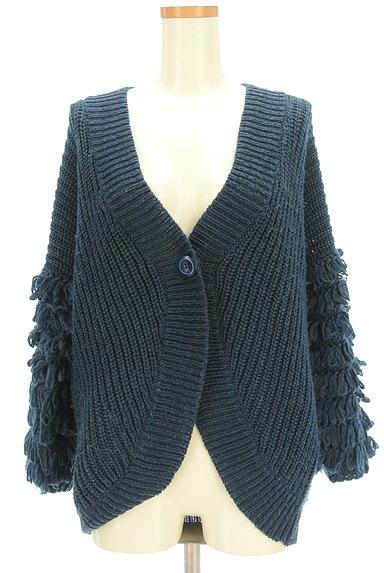 A.I.C(エーアイシー)の古着「フリンジ袖ゆったりカーディガン(カーディガン・ボレロ)」大画像1へ