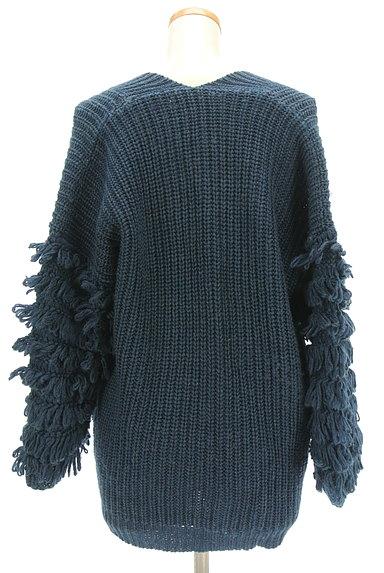 A.I.C(エーアイシー)の古着「フリンジ袖ゆったりカーディガン(カーディガン・ボレロ)」大画像2へ