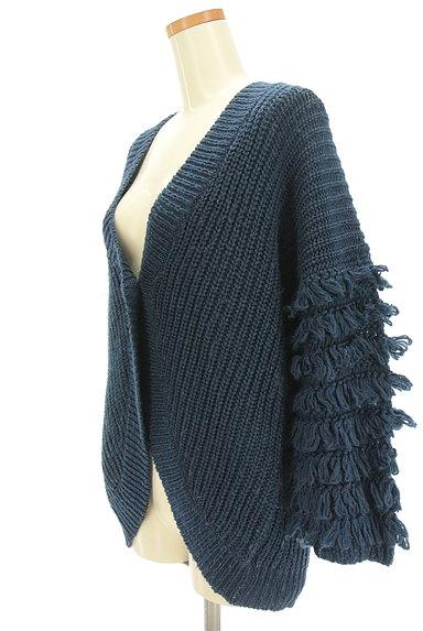 A.I.C(エーアイシー)の古着「フリンジ袖ゆったりカーディガン(カーディガン・ボレロ)」大画像3へ
