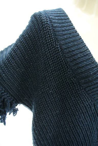 A.I.C(エーアイシー)の古着「フリンジ袖ゆったりカーディガン(カーディガン・ボレロ)」大画像4へ