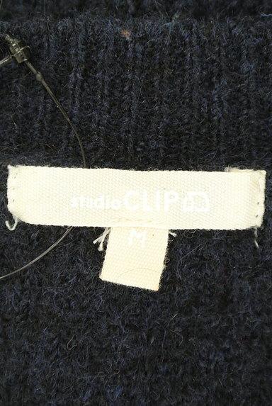 studio CLIP(スタディオクリップ)の古着「シンプルVネックニットトップス(ニット)」大画像6へ