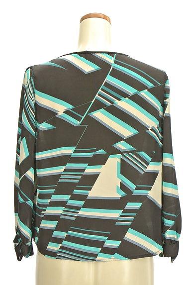 NARA CAMICIE(ナラカミーチェ)の古着「総柄タックカットソー(カットソー・プルオーバー)」大画像2へ