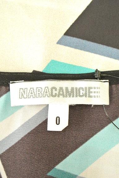 NARA CAMICIE(ナラカミーチェ)の古着「総柄タックカットソー(カットソー・プルオーバー)」大画像6へ