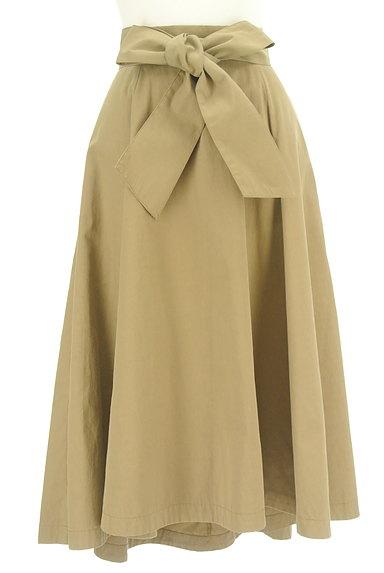RD ROUGE DIAMANT(アールディー ルージュ ディアマン)の古着「ウエストリボンテールロングスカート(ロングスカート・マキシスカート)」大画像1へ