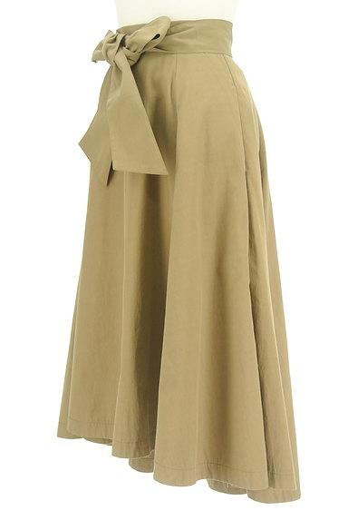 RD ROUGE DIAMANT(アールディー ルージュ ディアマン)の古着「ウエストリボンテールロングスカート(ロングスカート・マキシスカート)」大画像3へ