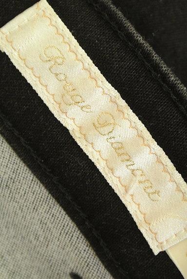RD ROUGE DIAMANT(アールディー ルージュ ディアマン)の古着「ブラックスキニーデニムパンツ(デニムパンツ)」大画像6へ