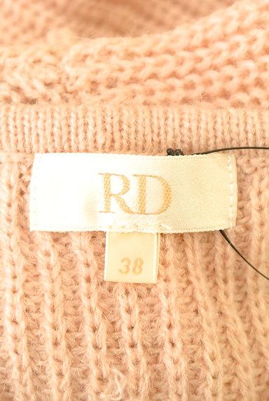 RD ROUGE DIAMANT(アールディー ルージュ ディアマン)の古着「ドロップVネックニット(ニット)」大画像6へ