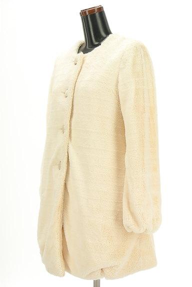 AG by aquagirl(エージーバイアクアガール)の古着「ノーカラーロングファーコート(コート)」大画像3へ