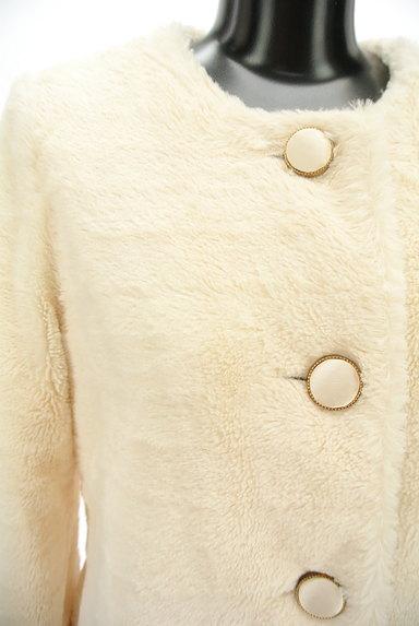 AG by aquagirl(エージーバイアクアガール)の古着「ノーカラーロングファーコート(コート)」大画像4へ