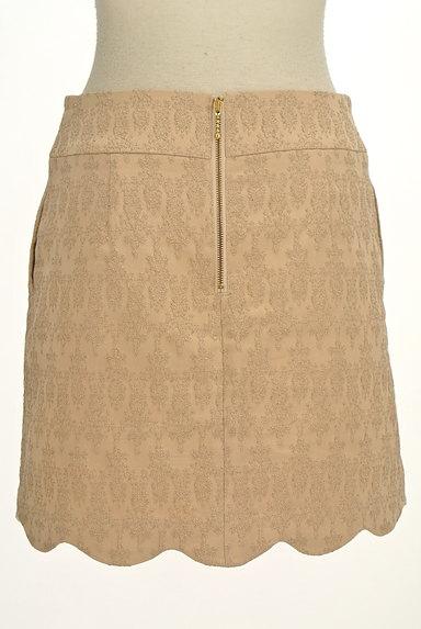 PROPORTION BODY DRESSING(プロポーションボディ ドレッシング)の古着「裾スカラップラメ刺繍ミニスカ(ミニスカート)」大画像2へ