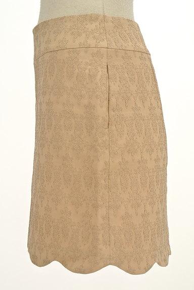 PROPORTION BODY DRESSING(プロポーションボディ ドレッシング)の古着「裾スカラップラメ刺繍ミニスカ(ミニスカート)」大画像3へ