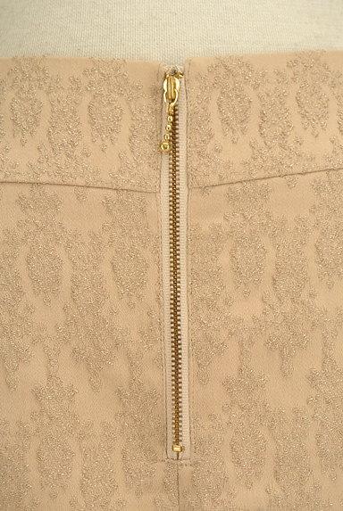PROPORTION BODY DRESSING(プロポーションボディ ドレッシング)の古着「裾スカラップラメ刺繍ミニスカ(ミニスカート)」大画像4へ