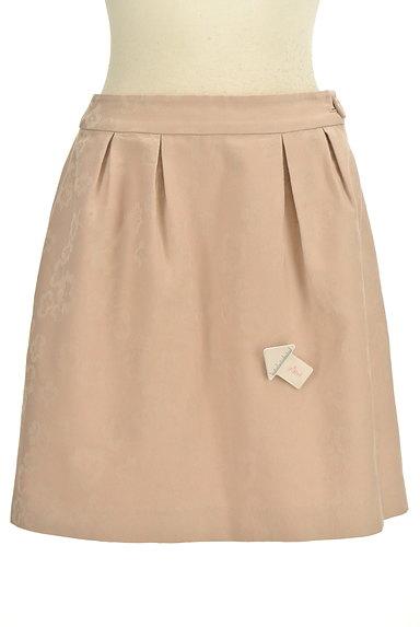 PROPORTION BODY DRESSING(プロポーションボディ ドレッシング)の古着「タックフレアミニスカート(ミニスカート)」大画像4へ