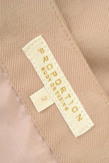 PROPORTION BODY DRESSING(プロポーションボディ ドレッシング)の古着「タックフレアミニスカート(ミニスカート)」大画像6へ