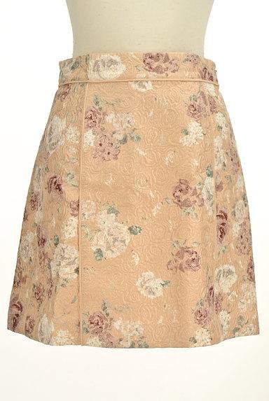 PROPORTION BODY DRESSING(プロポーションボディ ドレッシング)の古着「エンボス花柄台形ミニスカート(ミニスカート)」大画像1へ