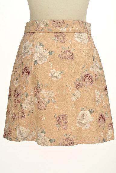 PROPORTION BODY DRESSING(プロポーションボディ ドレッシング)の古着「エンボス花柄台形ミニスカート(ミニスカート)」大画像2へ