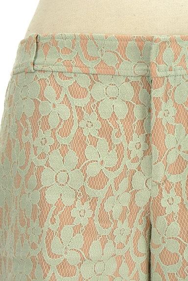 PROPORTION BODY DRESSING(プロポーションボディ ドレッシング)の古着「刺繍デザインショートパンツ(ショートパンツ・ハーフパンツ)」大画像4へ
