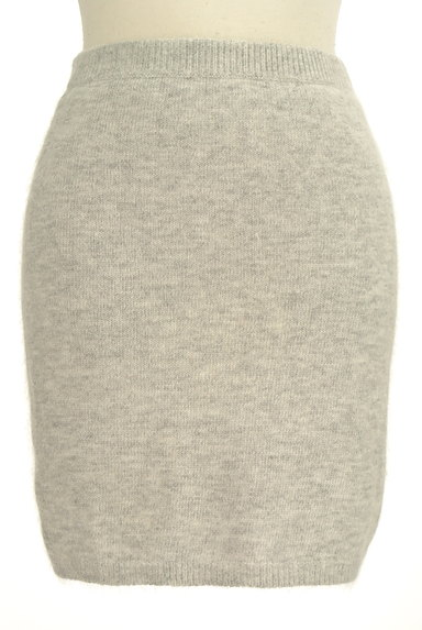 Ninamew(ニーナミュウ)の古着「起毛ニットタイトミニスカート(ミニスカート)」大画像1へ