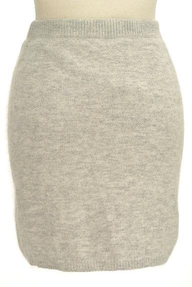 Ninamew(ニーナミュウ)の古着「起毛ニットタイトミニスカート(ミニスカート)」大画像2へ