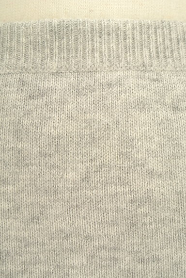 Ninamew(ニーナミュウ)の古着「起毛ニットタイトミニスカート(ミニスカート)」大画像4へ