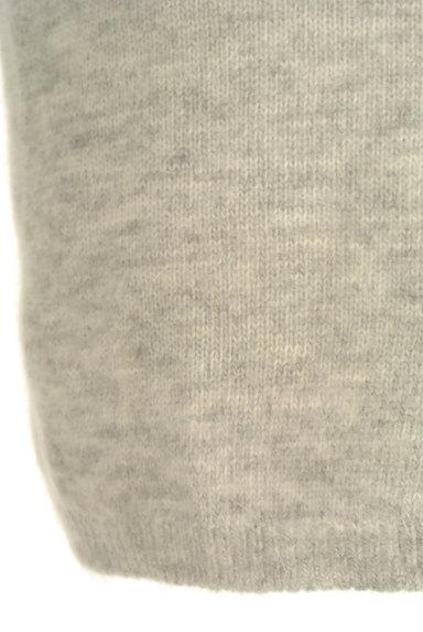Ninamew(ニーナミュウ)の古着「起毛ニットタイトミニスカート(ミニスカート)」大画像5へ