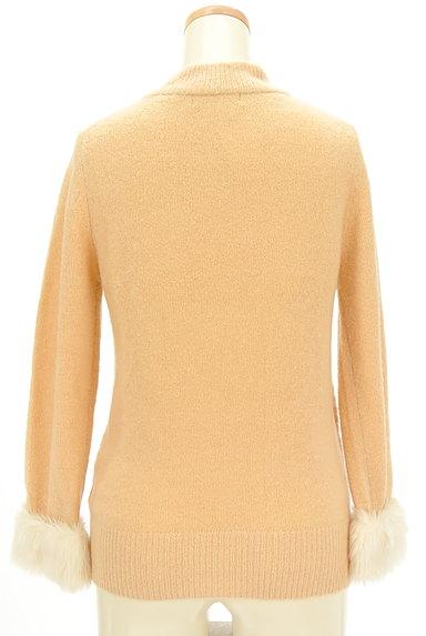 PROPORTION BODY DRESSING(プロポーションボディ ドレッシング)の古着「袖ファーボトルネックカラーニット(ニット)」大画像2へ