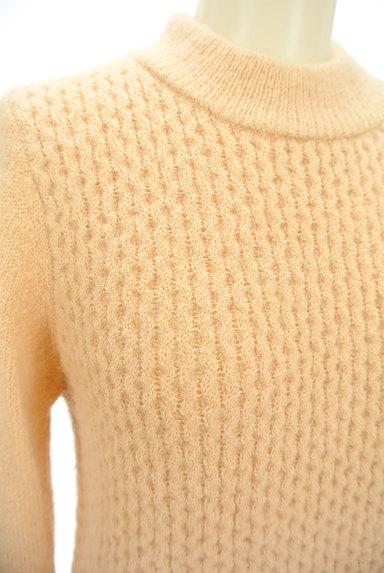 PROPORTION BODY DRESSING(プロポーションボディ ドレッシング)の古着「袖ファーボトルネックカラーニット(ニット)」大画像4へ