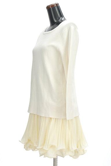 Supreme.La.La(シュープリームララ)の古着「裾シフォンプリーツセットアップ(セットアップ(ジャケット+スカート))」大画像3へ