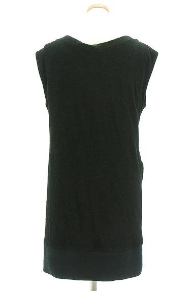 JOHANNA HO(ジョアンナホー)の古着「シアーデザインパイルニットワンピ(ワンピース・チュニック)」大画像2へ