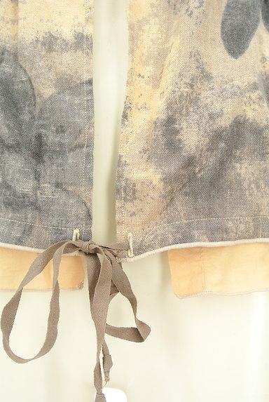 MARITHE FRANCOIS GIRBAUD(マリテフランソワジルボー)の古着「総柄デザインバルーントップス(ベスト・ジレ)」大画像5へ