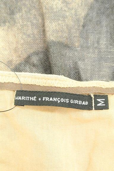 MARITHE FRANCOIS GIRBAUD(マリテフランソワジルボー)の古着「総柄デザインバルーントップス(ベスト・ジレ)」大画像6へ